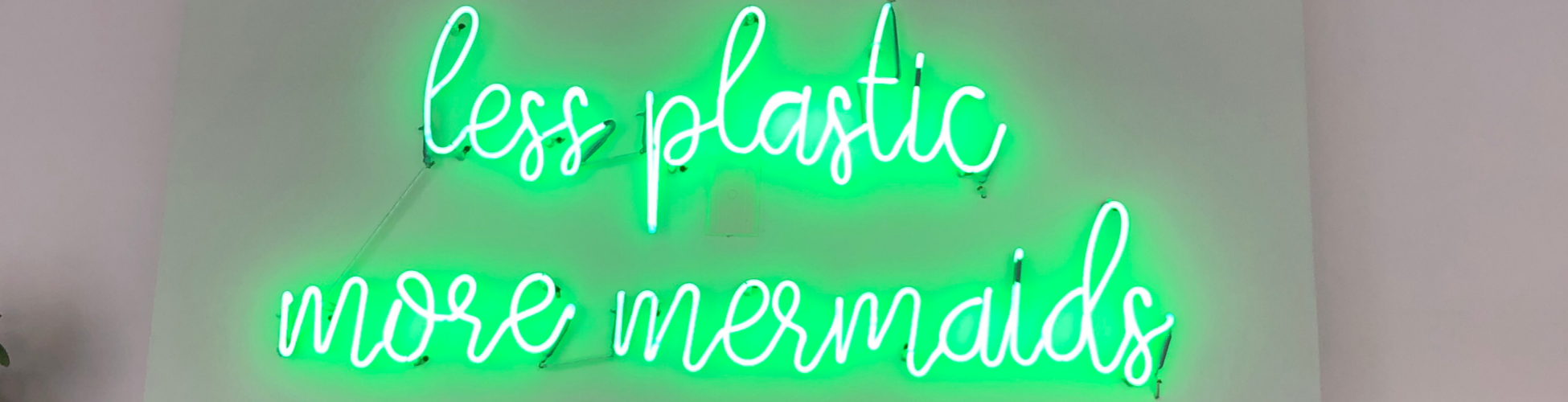 Corazón a Granel Less Plastic More Mermaids