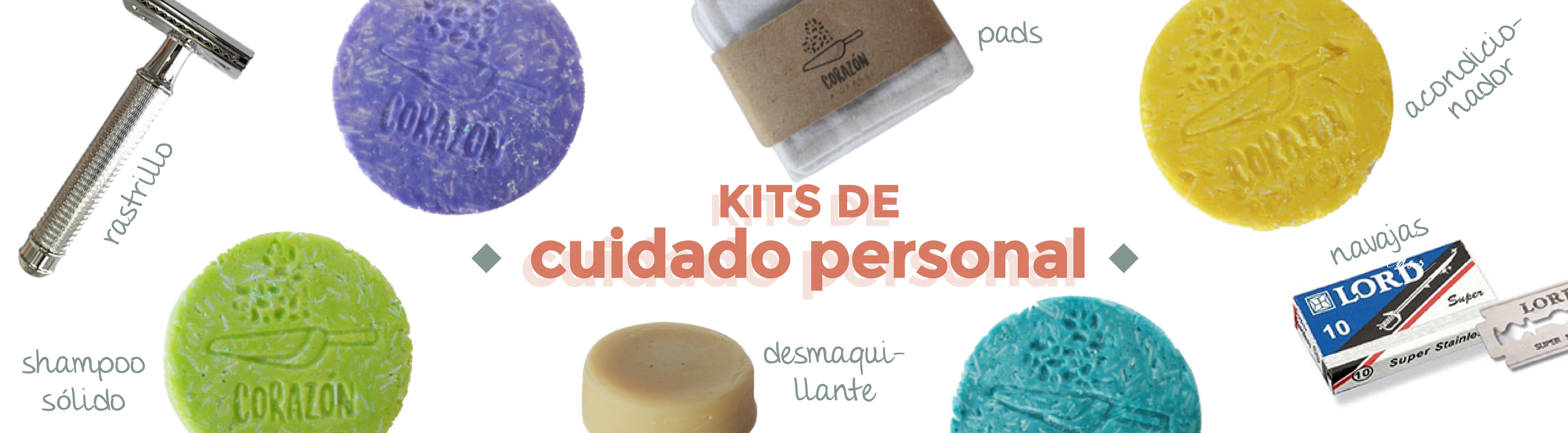 Kits Cuidado Personal Corazón a Granel